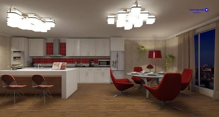 Kitchen (contemporary style):  Kitchen by 'Design studio S-8'