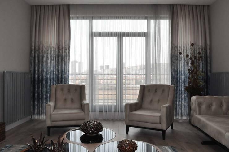 Mimayris Proje ve Yapı Ltd. Şti. – Salon:  tarz İç Dekorasyon