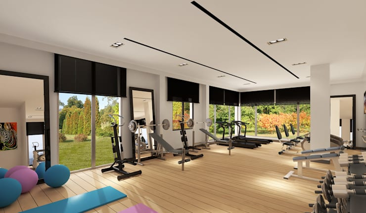 Gym by Mimayris Proje ve Yapı Ltd. Şti.