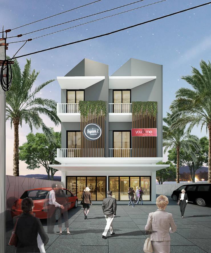 samarinda ruko:  Rumah by midun and partners architect