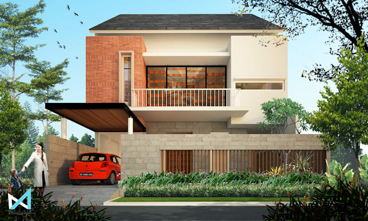 lakarsantri house:  Rumah by midun and partners architect