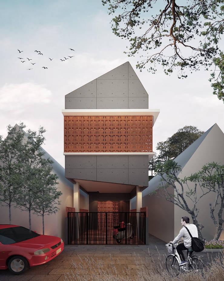 surabaya kos:  Rumah kecil by midun and partners architect
