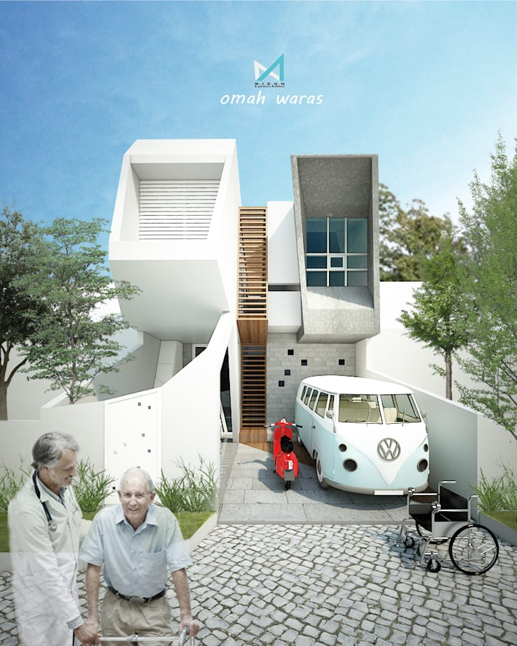 omah waras part 1:  Rumah by midun and partners architect
