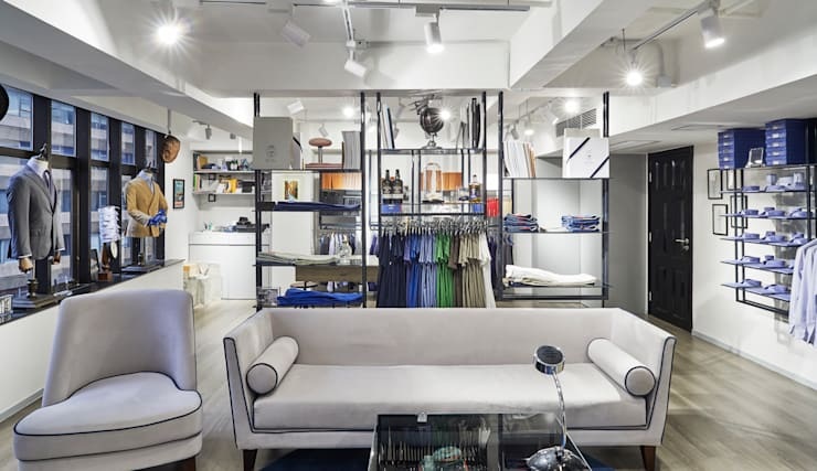 DAL DUCA SHOWROOM—HONG KONG:  Commercial Spaces by M2A Design