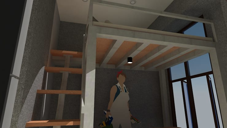 Loft Bed 2 :   by Tatami design