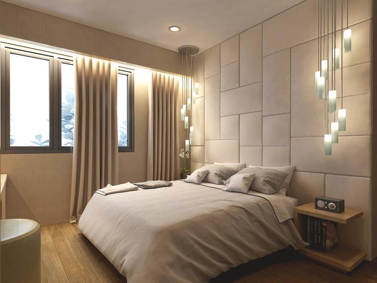 Bedroom 1:   by iaplus studio
