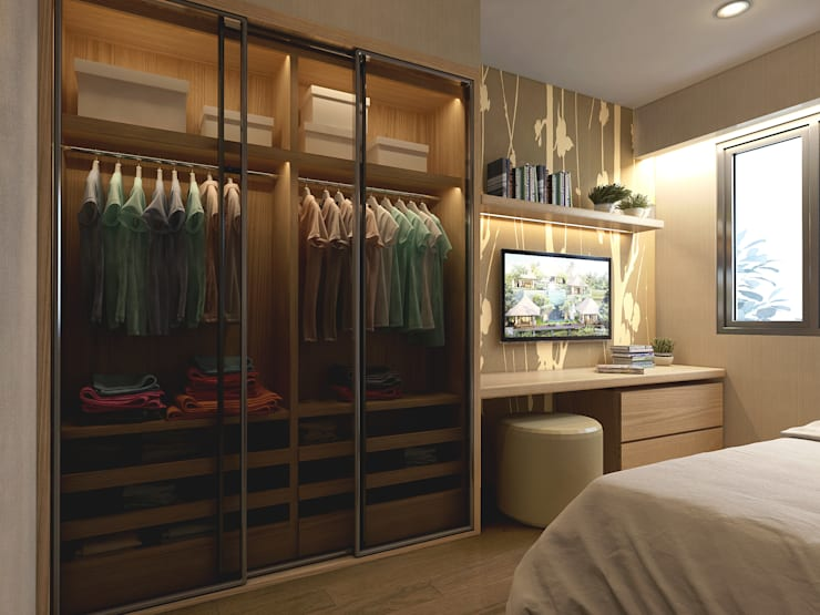 Wardrobe Bedroom 1:   by iaplus studio