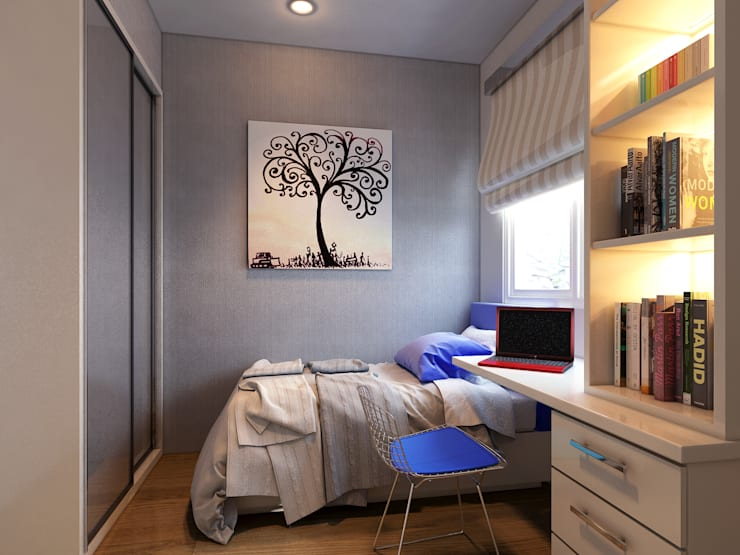 Bedroom 2:   by iaplus studio