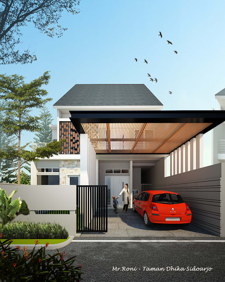 RN HOUSE:  Rumah by midun and partners architect