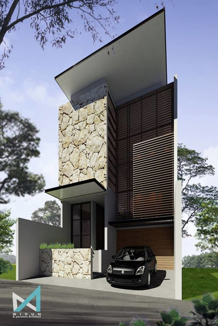 ER HOUSE:  Rumah by midun and partners architect