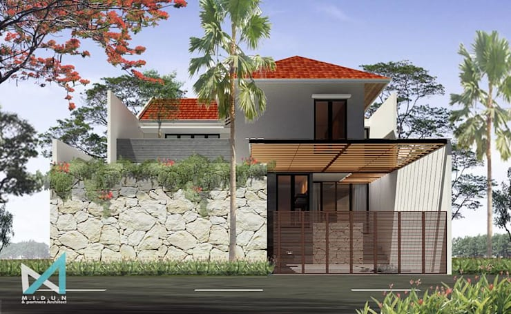 RK HOUSE:  Rumah by midun and partners architect