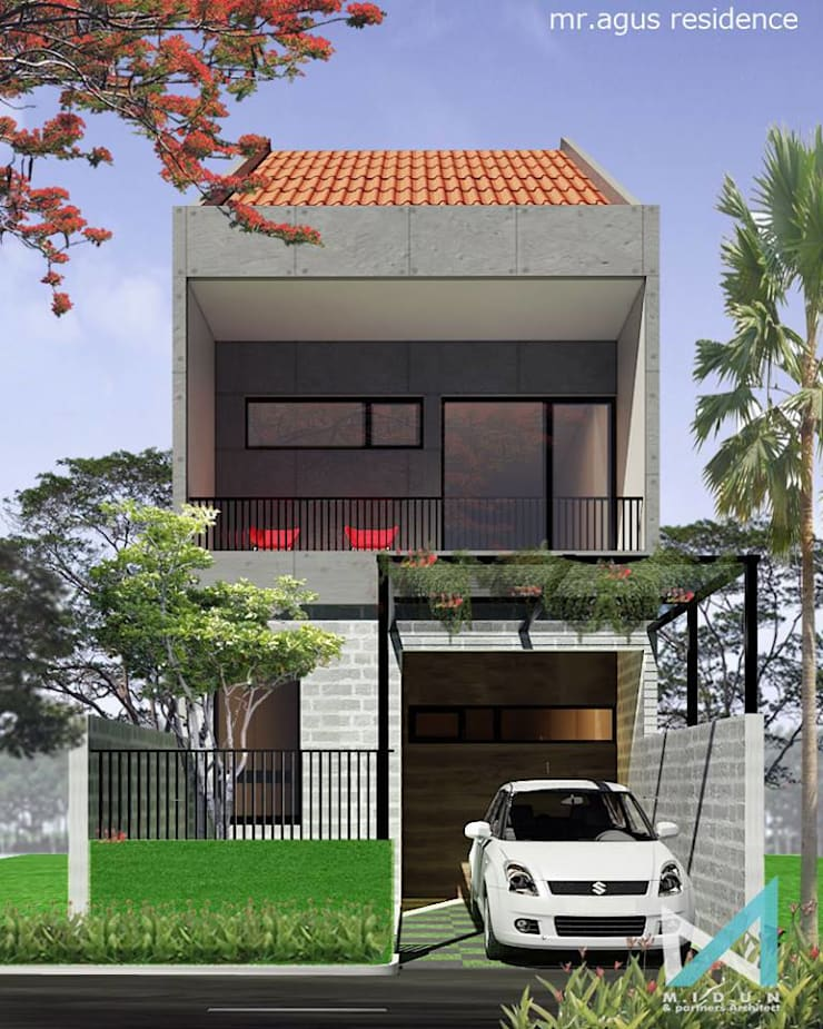 ED HOUSE:  Rumah by midun and partners architect