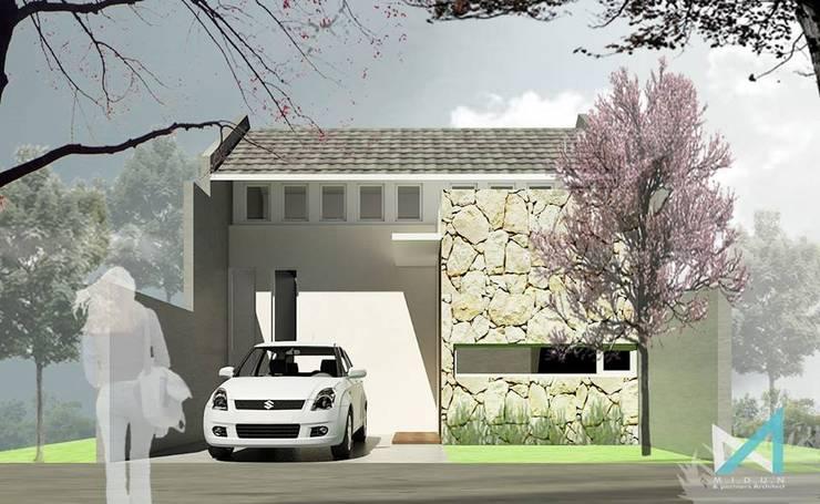 NY HOUSE:  Rumah by midun and partners architect