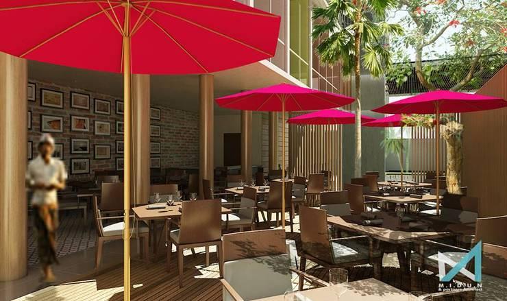 baliku hotel:  Dining room by midun and partners architect