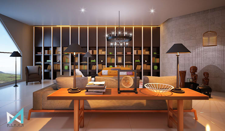 BO OFFICE:  Ruang Kerja by midun and partners architect