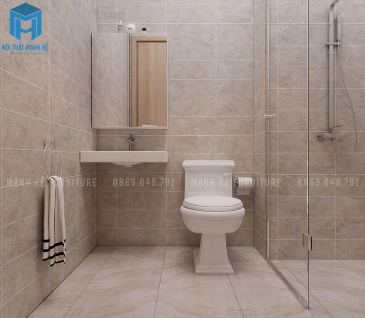 toilet:  Nhà bếp by Công ty TNHH Nội Thất Mạnh Hệ