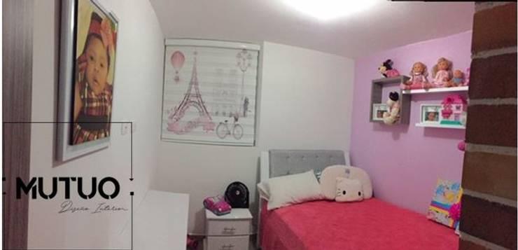 APARTAMENTO SAN LORENZO RESERVA Habitaciones para niños de estilo clásico de mutuo diseño interior Clásico
