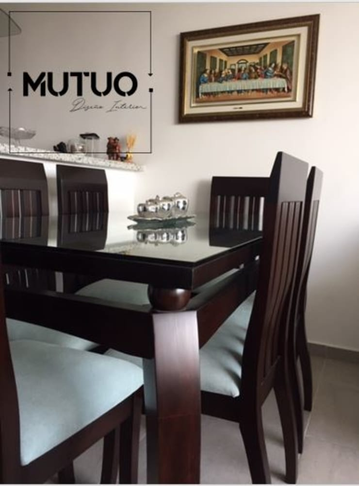 APARTAMENTO SAN LORENZO RESERVA Comedores de estilo clásico de mutuo diseño interior Clásico