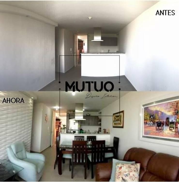 APARTAMENTO SAN LORENZO RESERVA Habitaciones de estilo clásico de mutuo diseño interior Clásico
