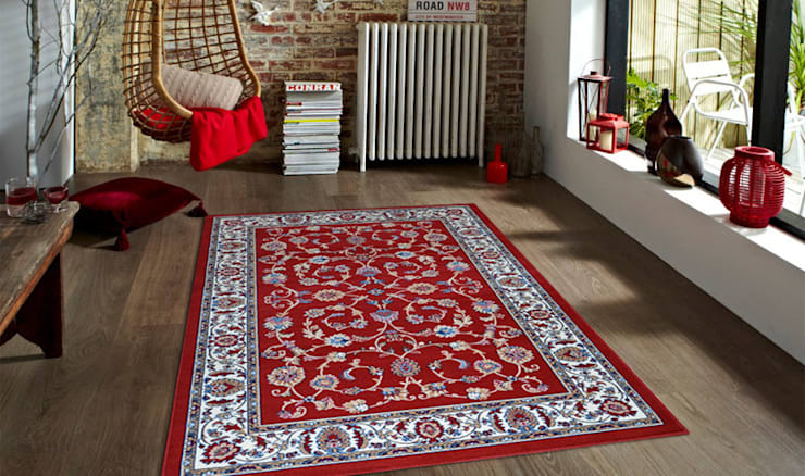 Tappeto PERSIAN-2079-RED: Casa in stile  di Webtappeti