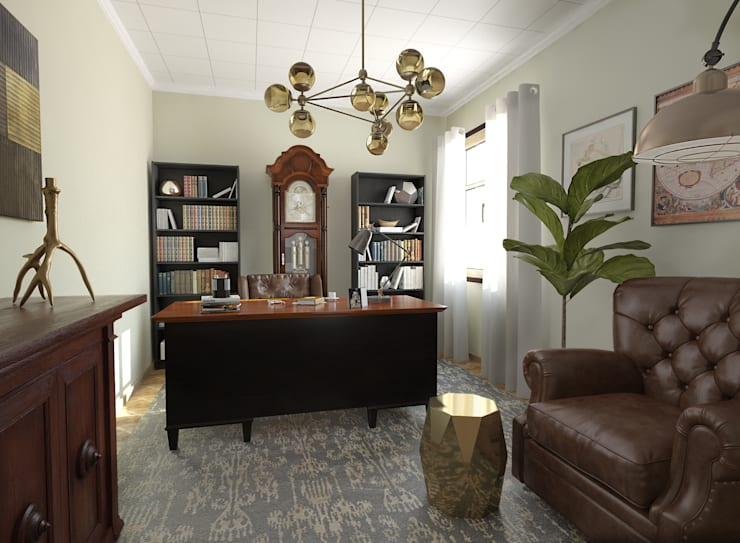 Study/office by Glancing Eye