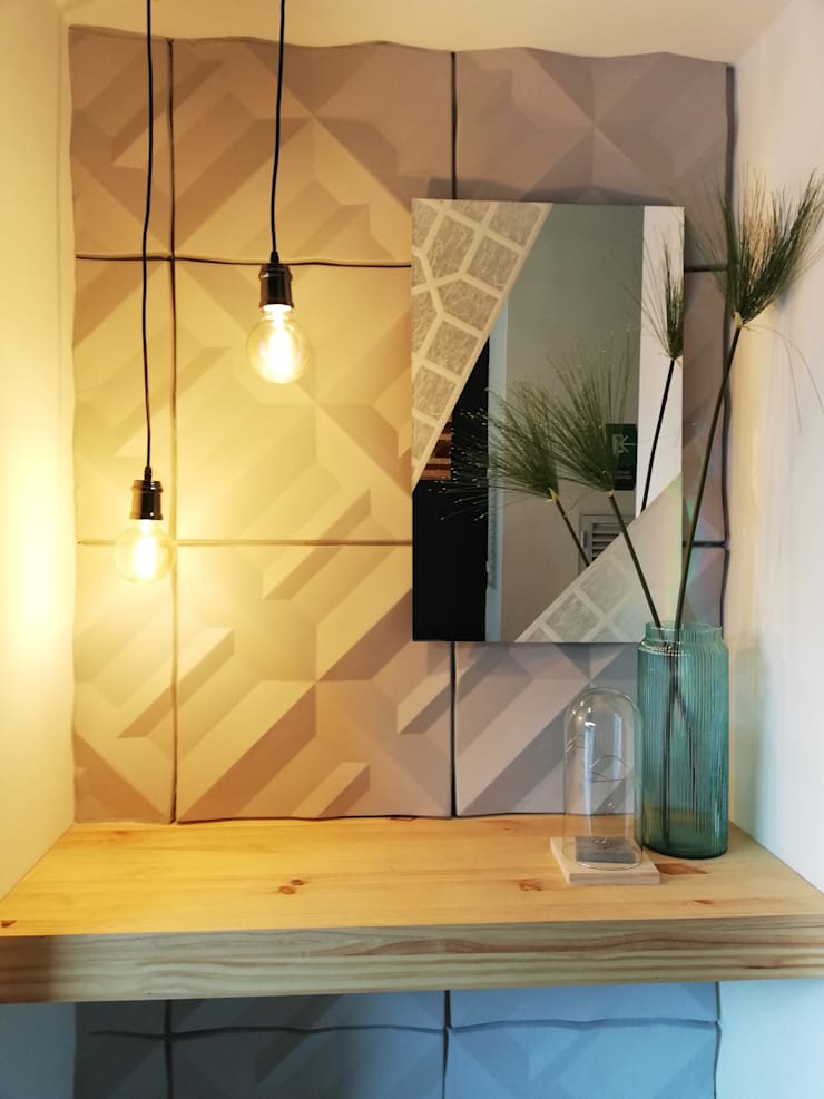Nicho complementario: Edificios de oficinas de estilo  por Decó ambientes a la medida