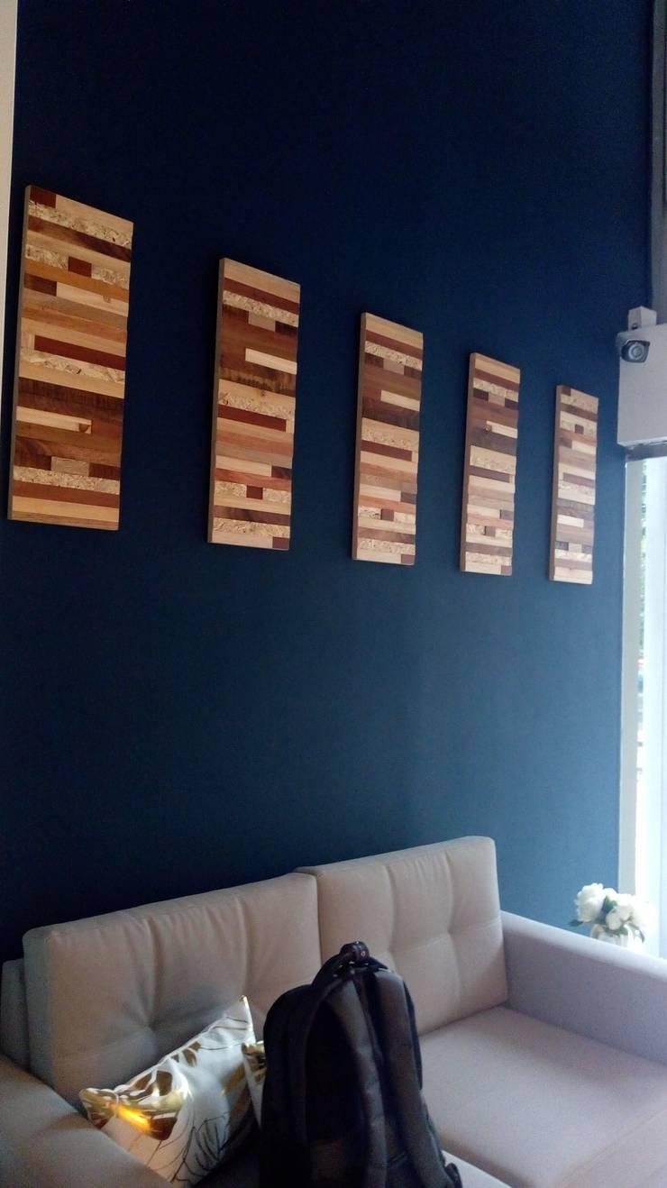 Sala principal: Edificios de oficinas de estilo  por Decó ambientes a la medida