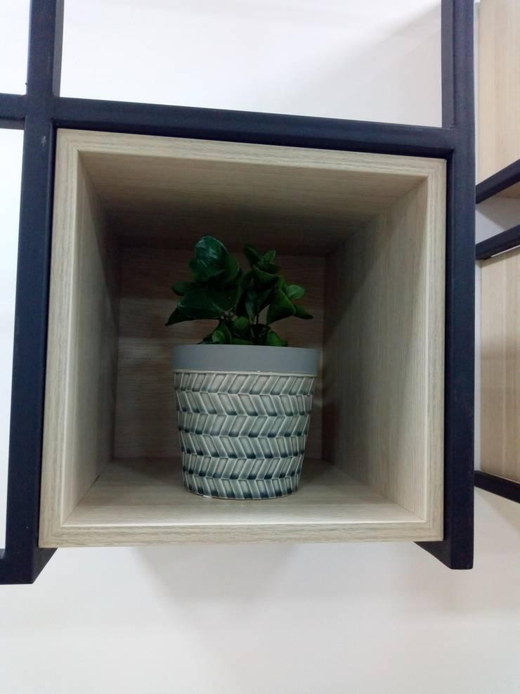 Zona Lounge: Estudios y despachos de estilo  por Decó ambientes a la medida