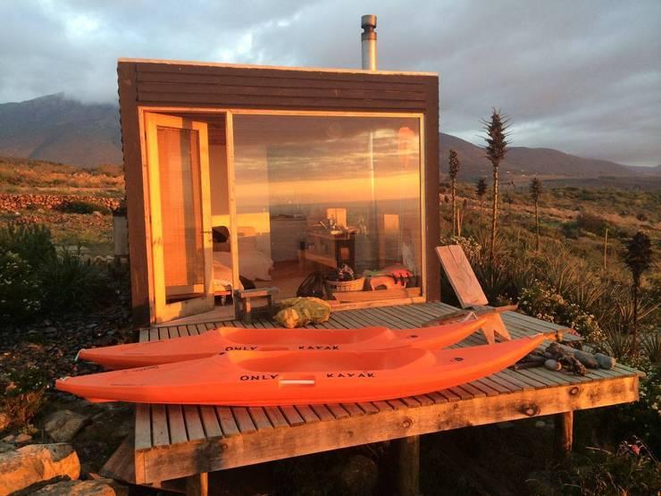 Cabaña en Los Vilos: Cabañas de estilo  por Fabrica ARQ
