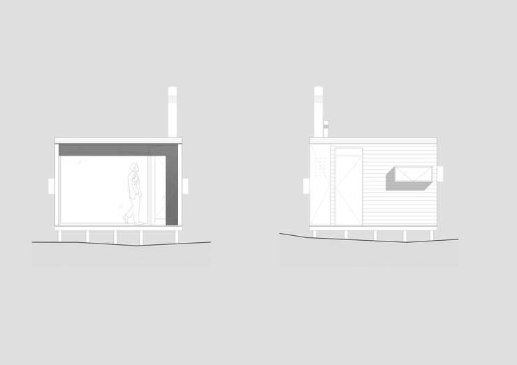 Cabaña en Los Vilos:  de estilo  por Fabrica ARQ