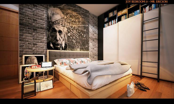 ER HOUSE:  Kamar Tidur by midun and partners architect