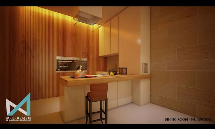 ER HOUSE:  Ruang Makan by midun and partners architect