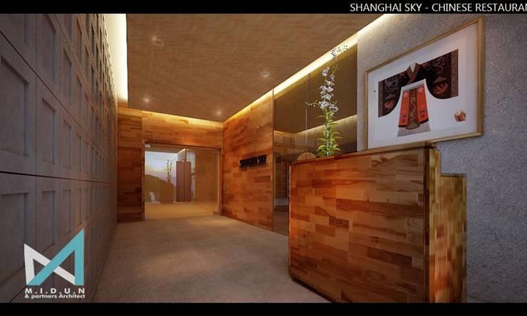SHANGHAI SKY:  Restoran by midun and partners architect