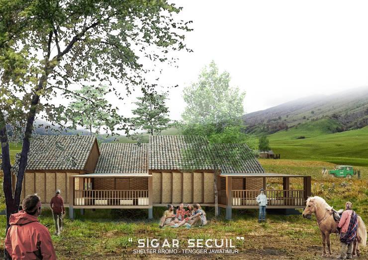SIGAR SECUIL SHELTER:  Ruang Komersial by midun and partners architect