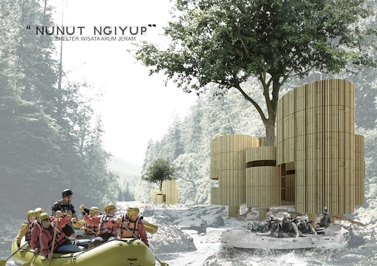 NN SHELTER:  Ruang Komersial by midun and partners architect
