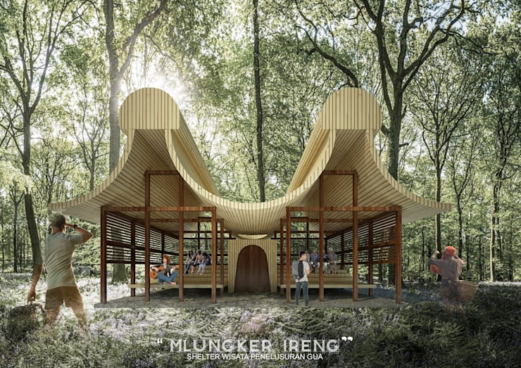 ML SHELTER:  Ruang Komersial by midun and partners architect