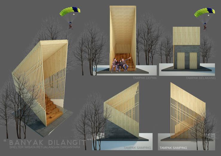 BL SHELTER:  Ruang Komersial by midun and partners architect