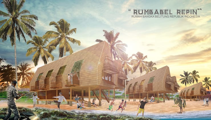 RUMBABEL REPIN HOMESTAY:  Hotels by midun and partners architect