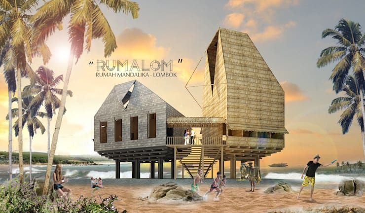 RUMALOM HOMESTAY:  Hotels by midun and partners architect