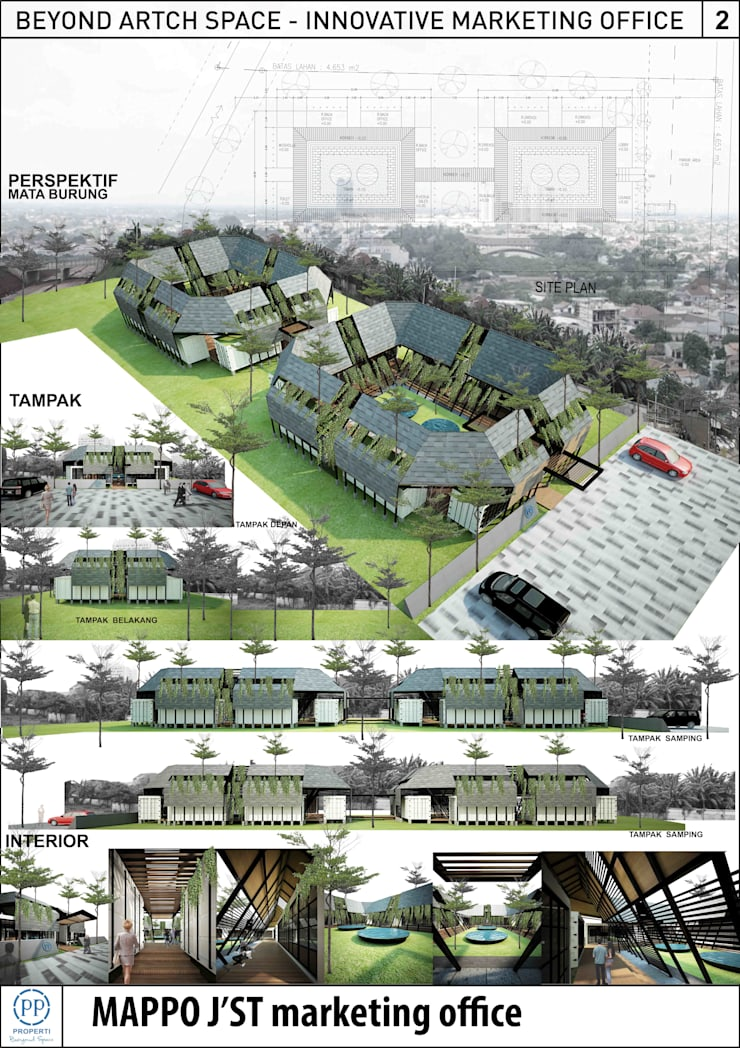 MAPPO JST :  Gedung perkantoran by midun and partners architect