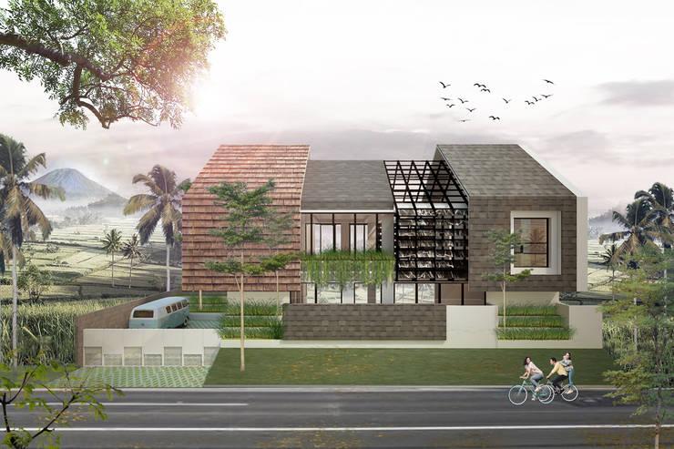 HAMUR AGIT ASAR :  Rumah by midun and partners architect