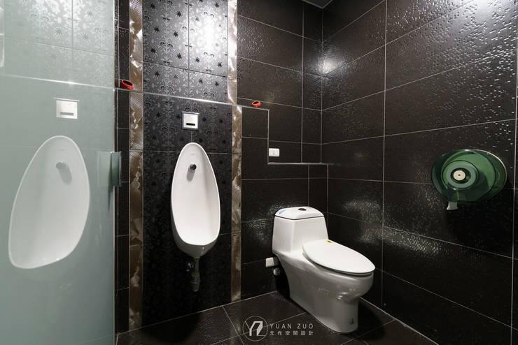 廁所:  商業空間 by 元作空間設計,