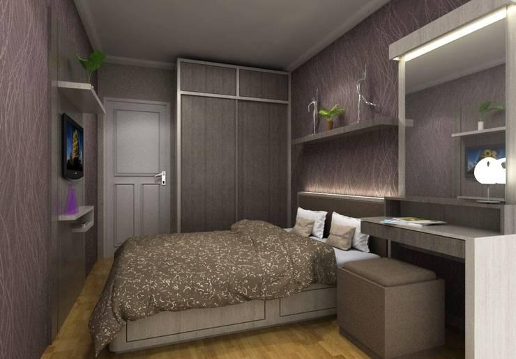 Apartemen Setiabudi Bandung:  Kamar Tidur by Maxx Details