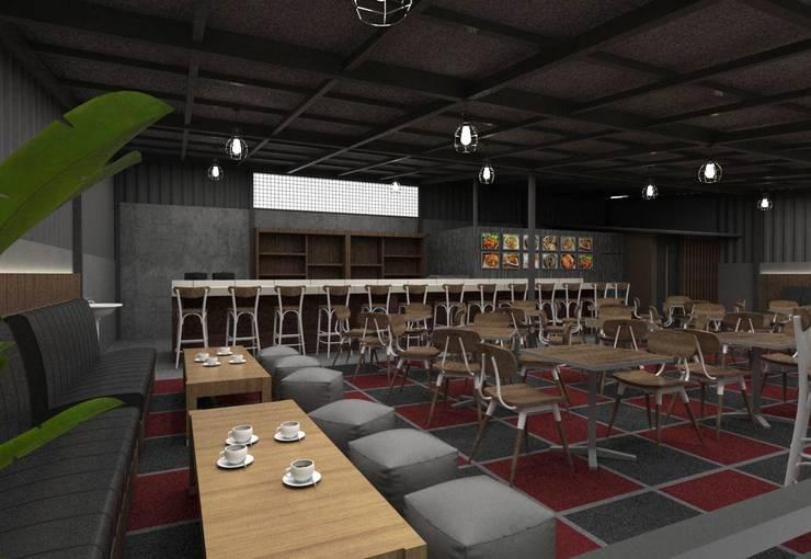 Lantai 2:  Restoran by Maxx Details