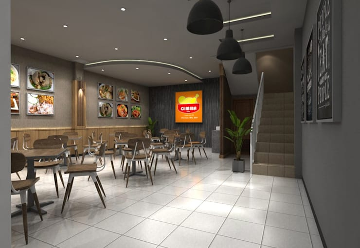 Lantai 1:  Restoran by Maxx Details