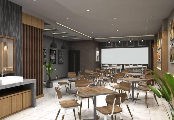 Area pintu masuk:  Restoran by Maxx Details