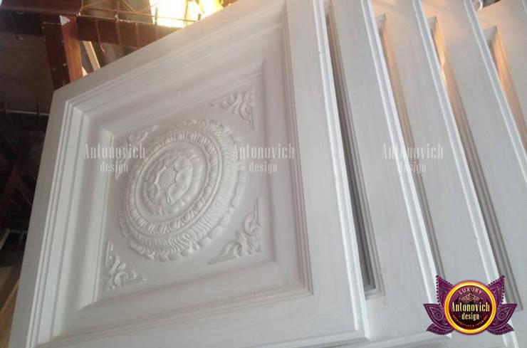Dazzling Gypsum Work:   by Luxury Antonovich Design
