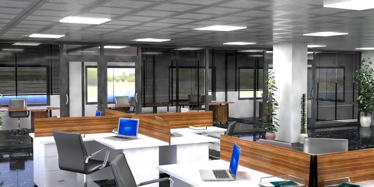 Study/office by Ego Mimarlık A.Ş