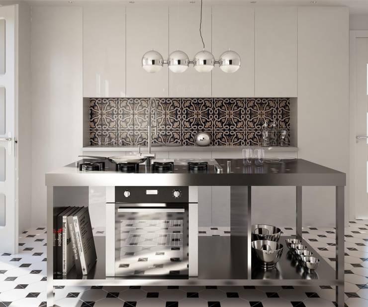 Cuisine de style  par CERAMICHE MUSA, Moderne Céramique