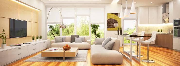 Diseños de Imagen: Salas/Recibidores de estilo  por Company Yei